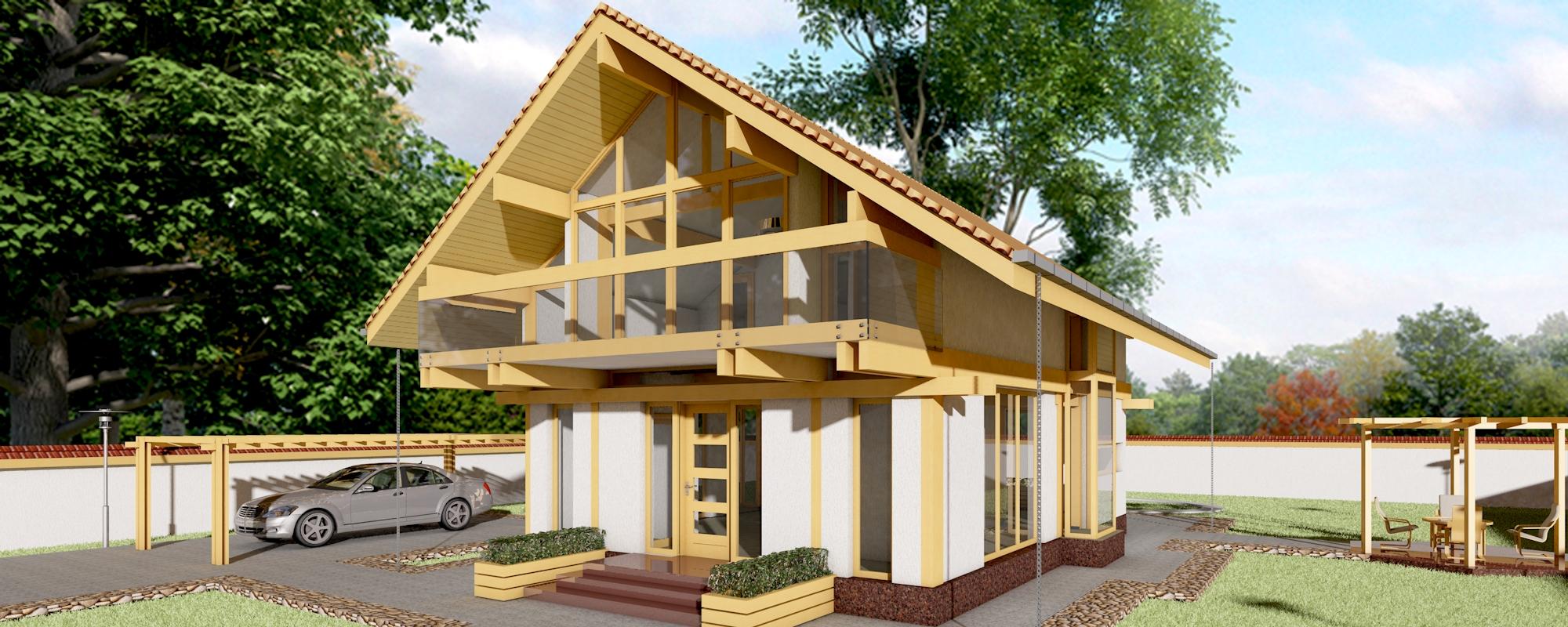 oferta casa de lemn